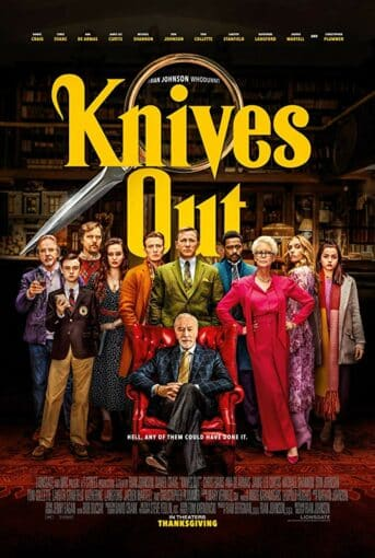 Knives Out – Mord ist Familiensache (2019) Poster